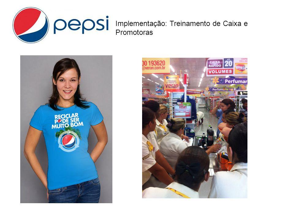 Implementação: Treinamento de Caixa e Promotoras