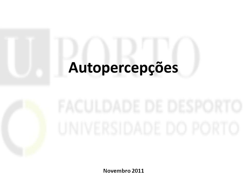 Autopercepções Novembro 2011