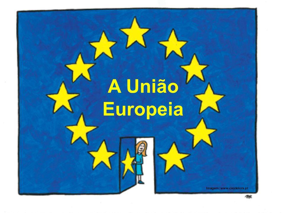 A União Europeia Imagem: www.ciejdelors.pt
