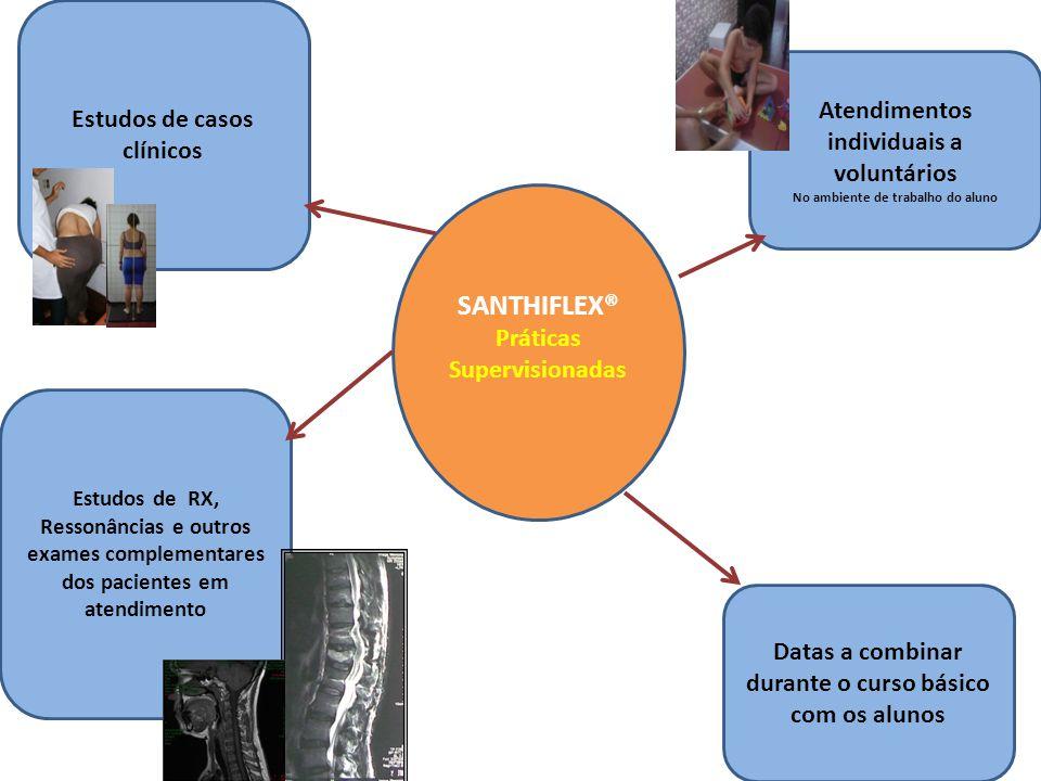 SANTHIFLEX® Curso Básico PROGRAMA MÓDULO 1 Bases e técnicas do Método Biomecânica, Neuropsicomotricidade, Ayurvédica; Avaliação Postural; História de