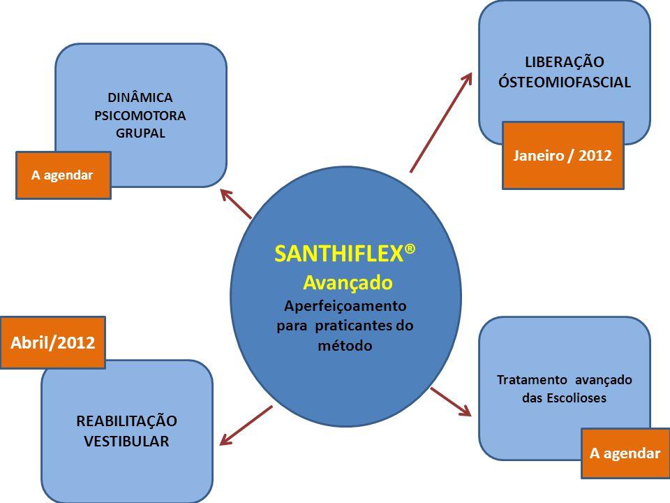 SANTHIFLEX® CURSO BÁSICO ORGANIZAÇÃO E CERTIFICAÇÃO Centro Santhiflex de Reeducação Postural Psicomotora LTDA Investimento 3.000,00 2.800,00 à vista 1