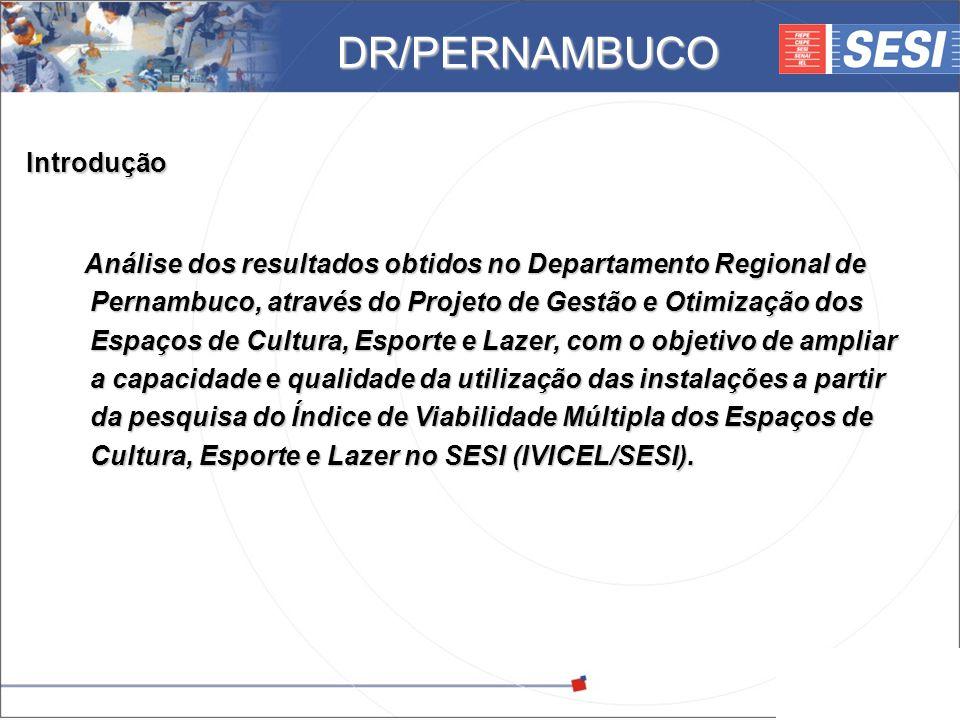 © 2008 – SESI DR/PE – www.pe.sesi.org.br Introdução Análise dos resultados obtidos no Departamento Regional de Pernambuco, através do Projeto de Gestã