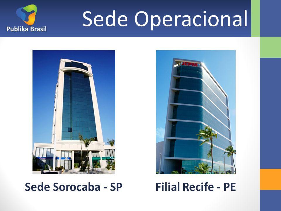 Sede Sorocaba - SPFilial Recife - PE Sede Operacional