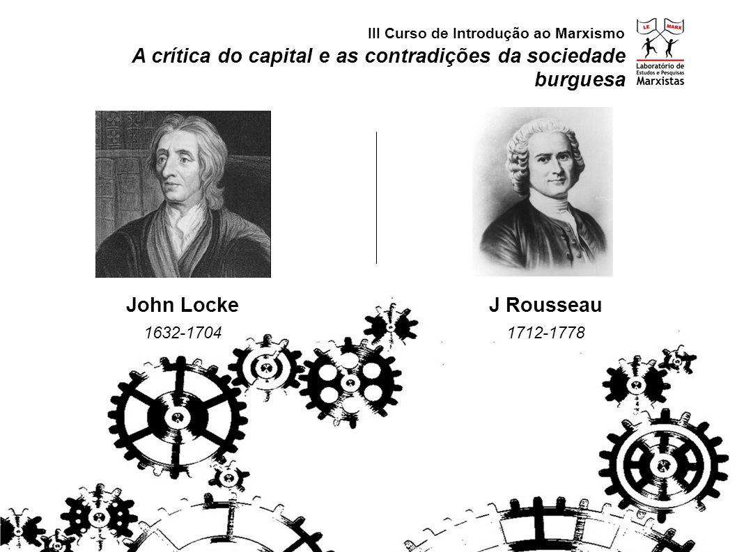 A crítica do capital e as contradições da sociedade burguesa III Curso de Introdução ao Marxismo A Smith 1723-1790 D Ricardo 1772-1823