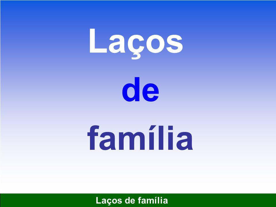 1 Laços de família Laços de família