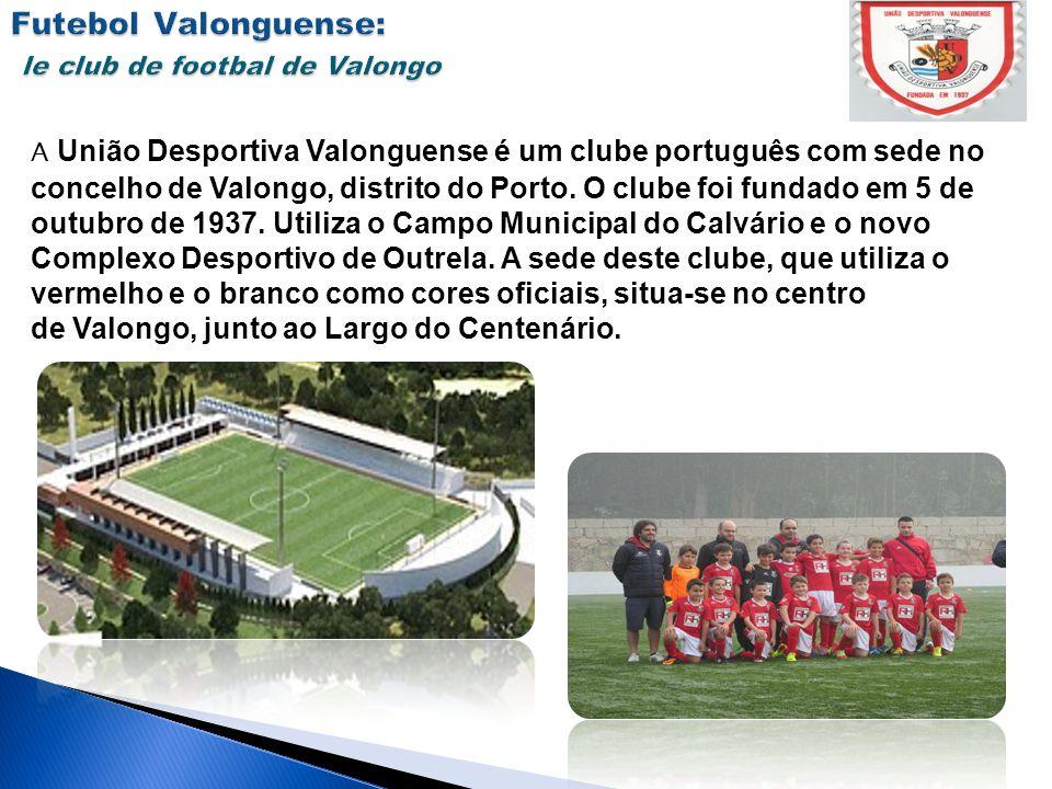 A União Desportiva Valonguense é um clube português com sede no concelho de Valongo, distrito do Porto. O clube foi fundado em 5 de outubro de 1937. U