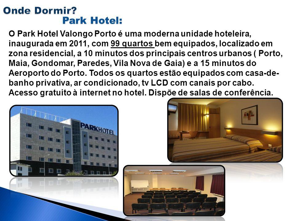 Park Hotel: O Park Hotel Valongo Porto é uma moderna unidade hoteleira, inaugurada em 2011, com 99 quartos bem equipados, localizado em zona residenci