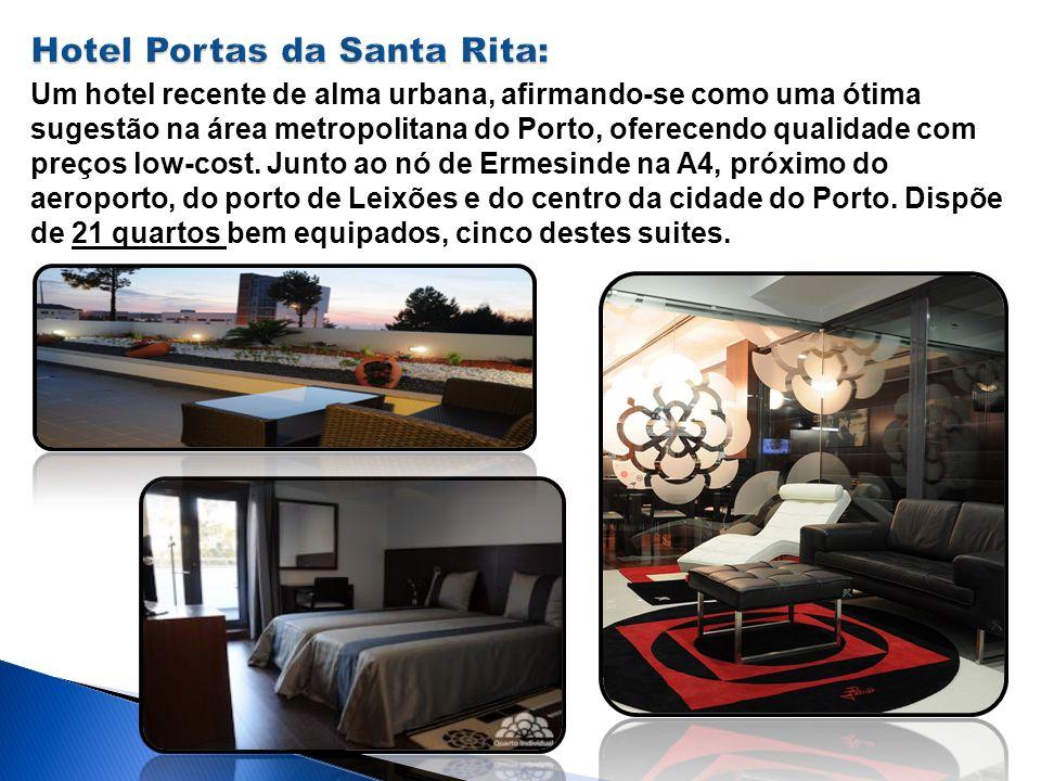 Um hotel recente de alma urbana, afirmando-se como uma ótima sugestão na área metropolitana do Porto, oferecendo qualidade com preços low-cost. Junto