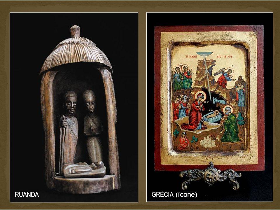 AFRICANOS VÁRIOS RESERVA DA COLECÇÃO Como vê, estes Presépios NÃO TÊM AS CONDIÇÕES NECESSÁRIAS para a sua conveniente conservação. Por isso, O MUSEU É