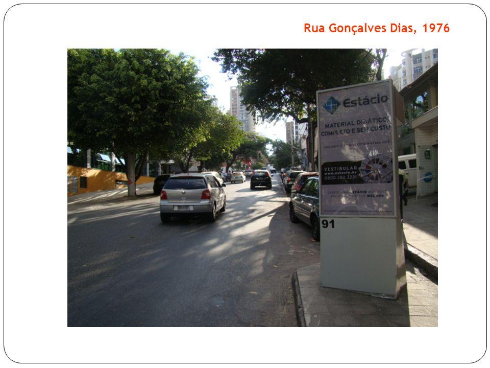 Rua Gonçalves Dias, 1976