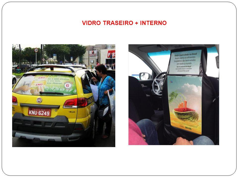 VIDRO TRASEIRO + INTERNO