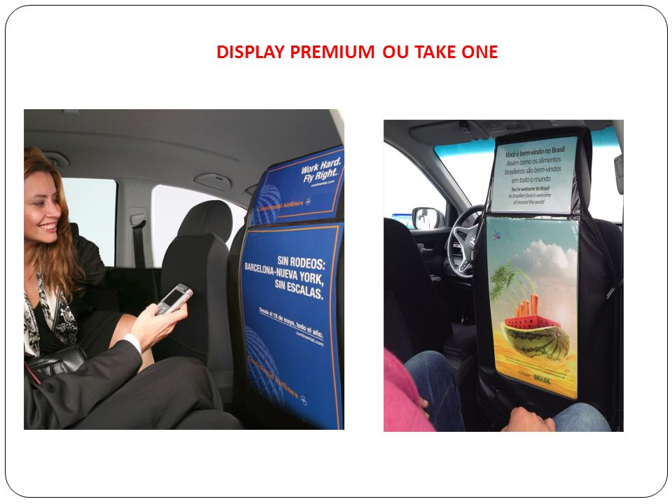 DISPLAY PREMIUM OU TAKE ONE