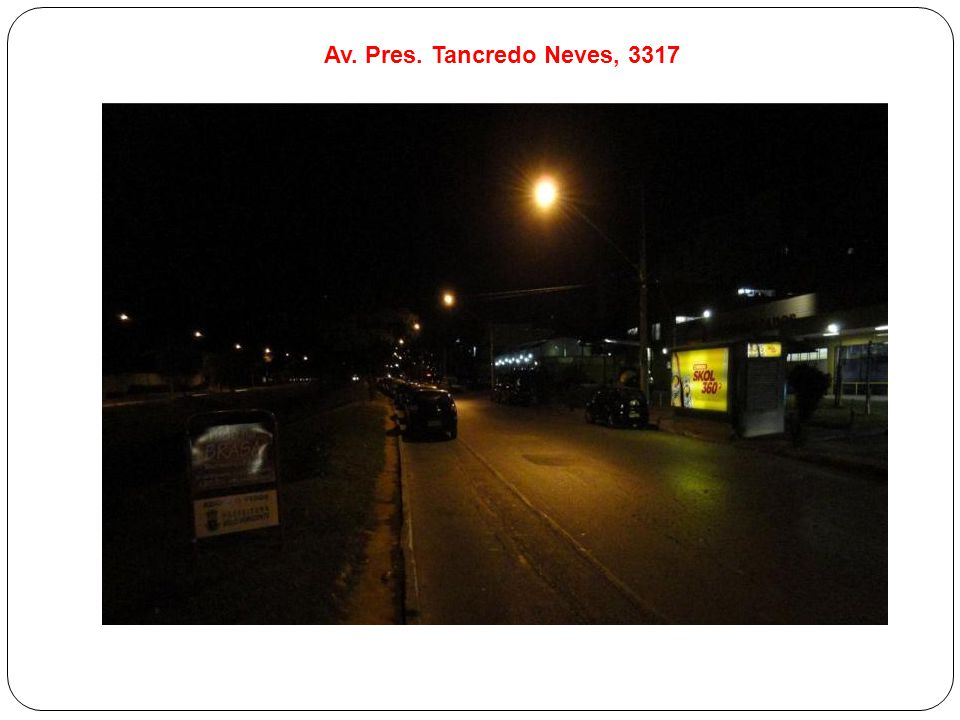 Av. Pres. Tancredo Neves, 3317