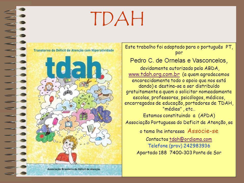 TDAH 22)Quais são os sinais de desatenção que o DSM-IV menciona.