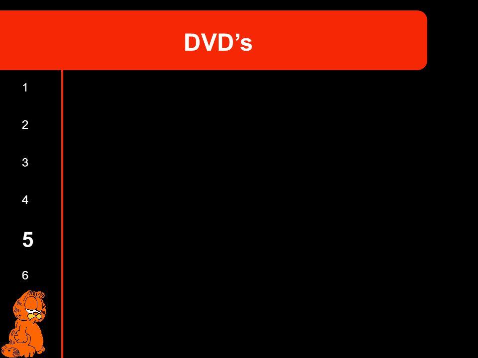 2 3 4 5 6 1 DVDs