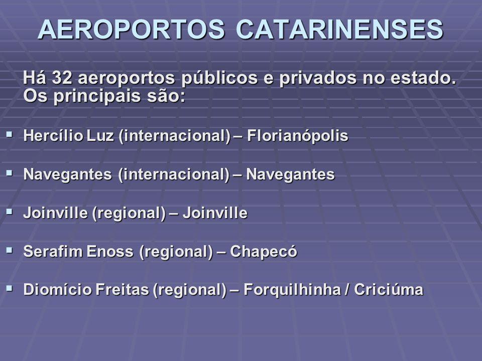 Porto de São Francisco do Sul Porto de Itajaí Porto de Imbituba