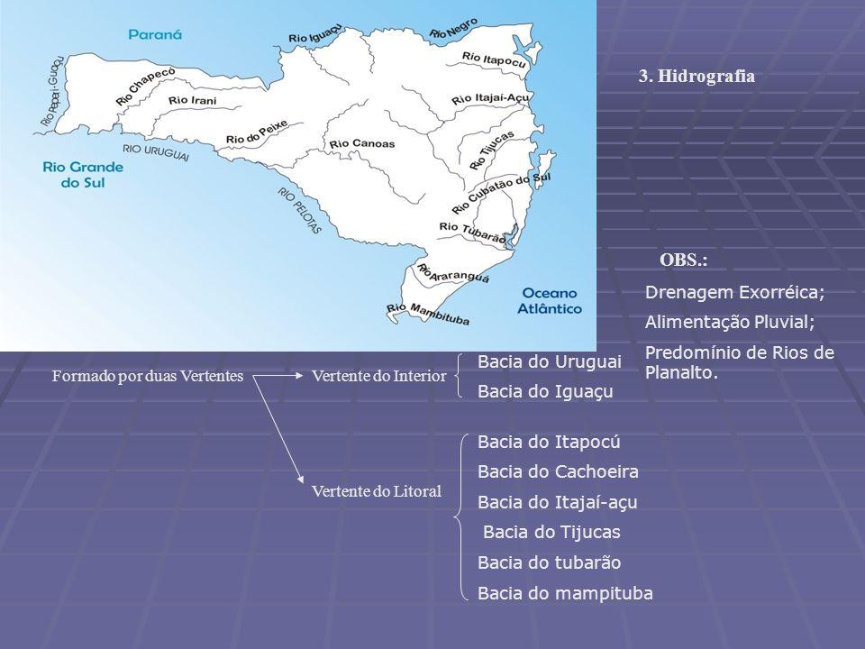 LITORAL CATARINENSE LITORAL CATARINENSE São 531km de litoral que pode ser dividido em duas partes tendo como referência a Ilha de Santa Catarina. São