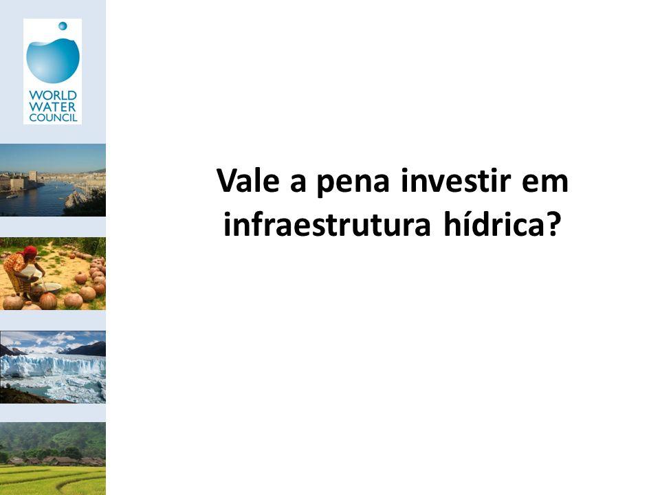 Vale a pena investir em infraestrutura hídrica?