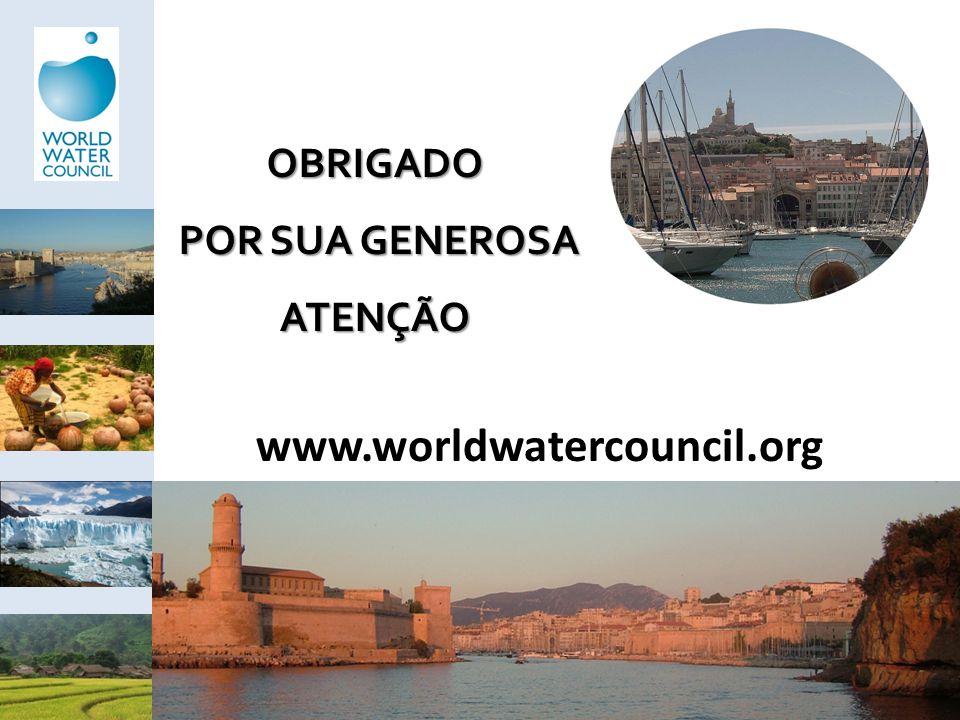 www.worldwatercouncil.org OBRIGADO POR SUA GENEROSA POR SUA GENEROSAATENÇÃO