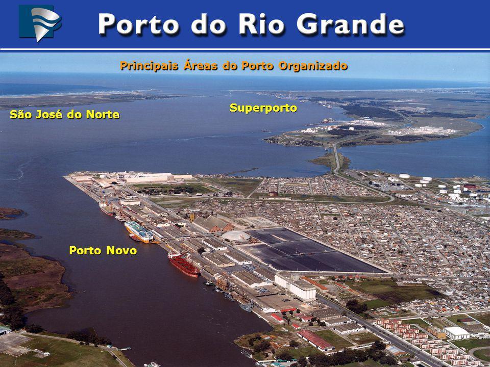 Porto Organizado do Rio Grande Edição a partir de Imagem obtida do satélite Landsat7