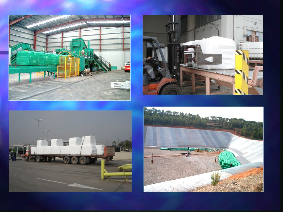 TRATOR DE ESTEIRAS Empurra o lixo Espalha a cobertura do solo Construção de platôs, estradas, saias e bermas Não compacta o lixo