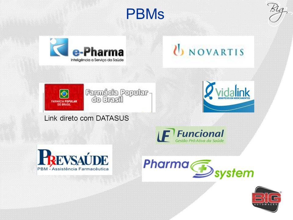 PBMs Link direto com DATASUS