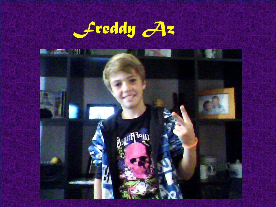 Dav Br ( David Barata) tem 11 anos e é o baterista e vocalista juntamente com Freddy Az.