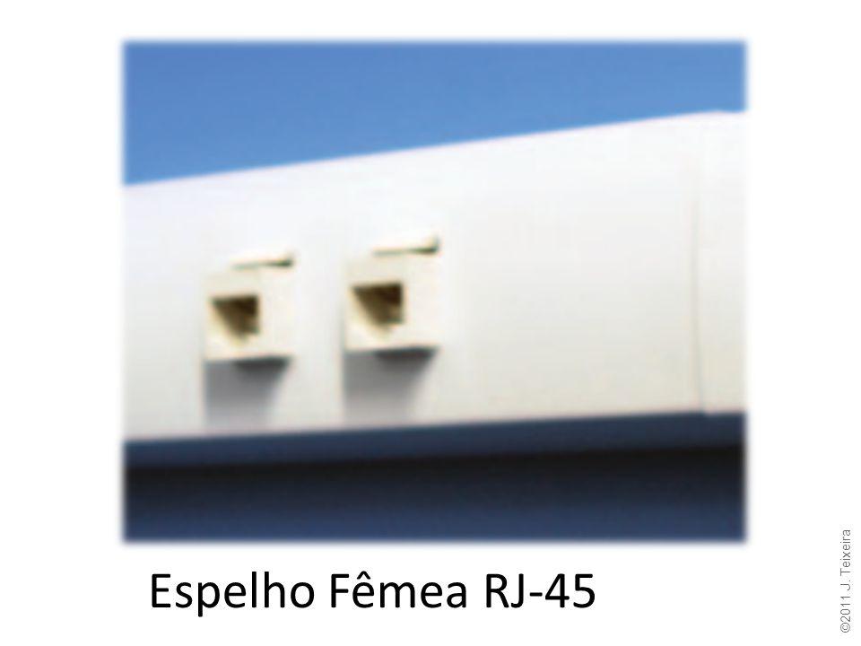 Espelho Fêmea RJ-45 ©2011 J. Teixeira