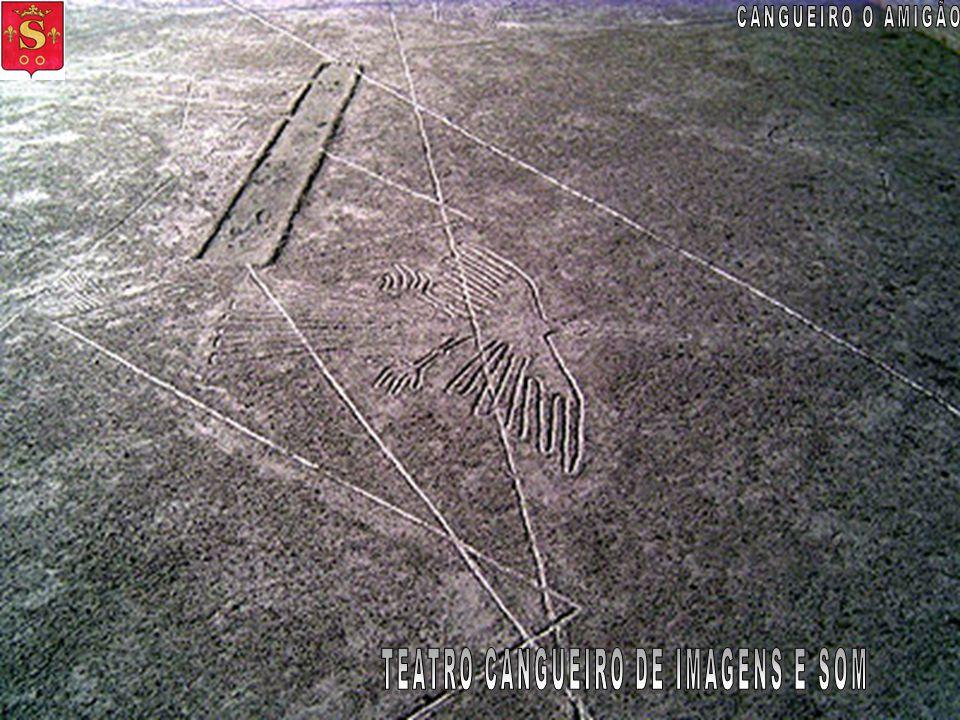 As Linhas de Nazca e alienígenas Para fazer uma linha que só poderia ser apreciado a partir do ar, quando o homem ainda não dominam os céus. Essa é um