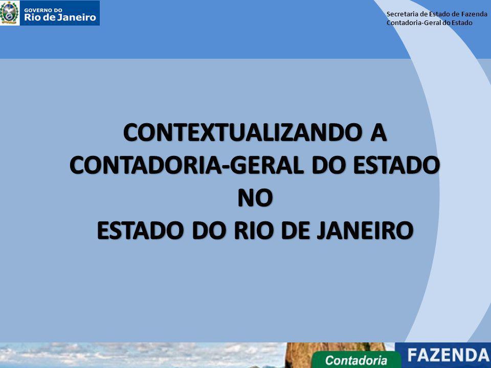 Secretaria de Estado de Fazenda Contadoria-Geral do Estado