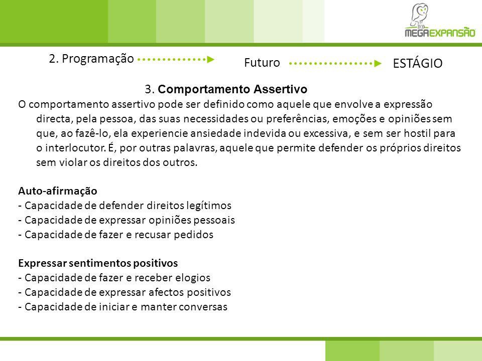 2.Programação Futuro ESTÁGIO 3.
