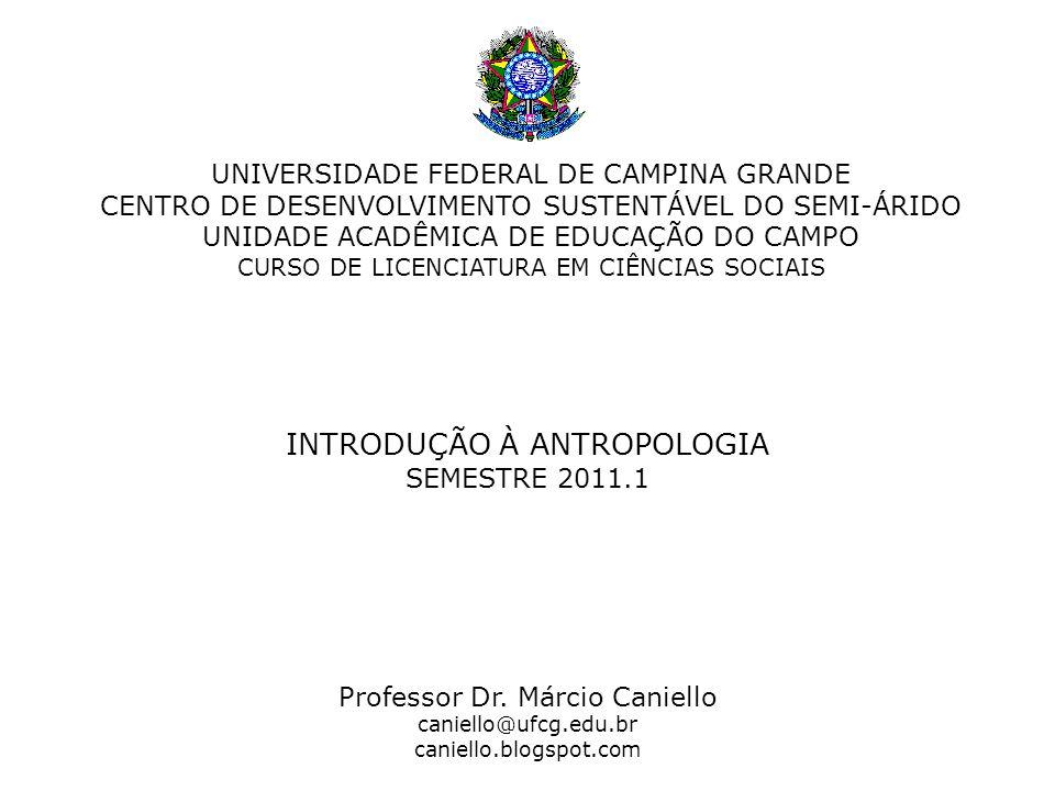 UNIVERSIDADE FEDERAL DE CAMPINA GRANDE CENTRO DE DESENVOLVIMENTO SUSTENTÁVEL DO SEMI-ÁRIDO UNIDADE ACADÊMICA DE EDUCAÇÃO DO CAMPO CURSO DE LICENCIATUR