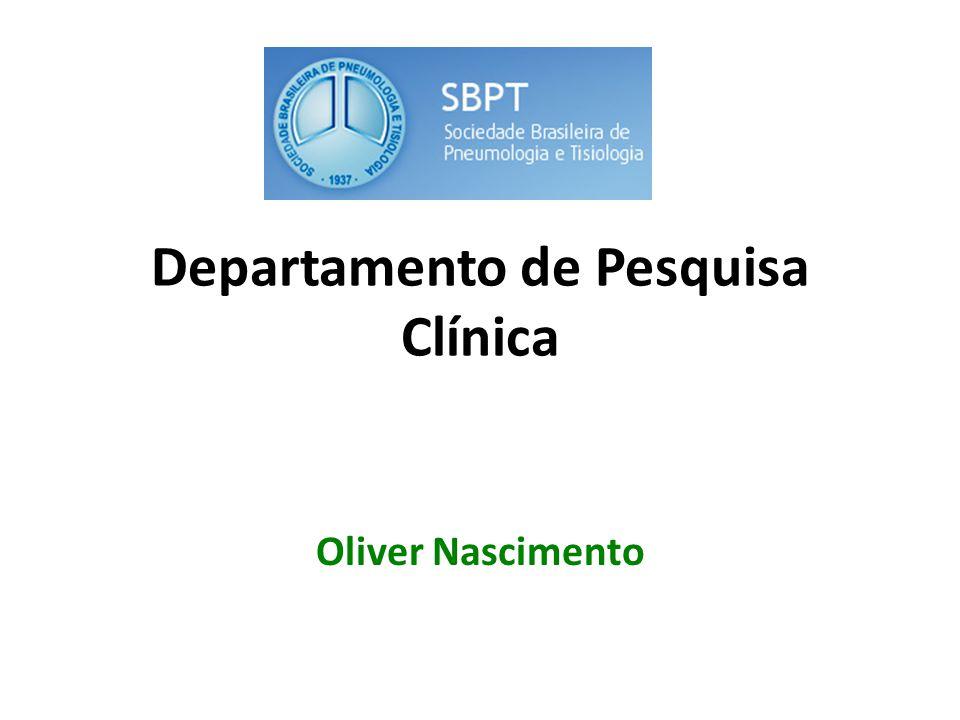Departamento de Pesquisa Clínica Oliver Nascimento