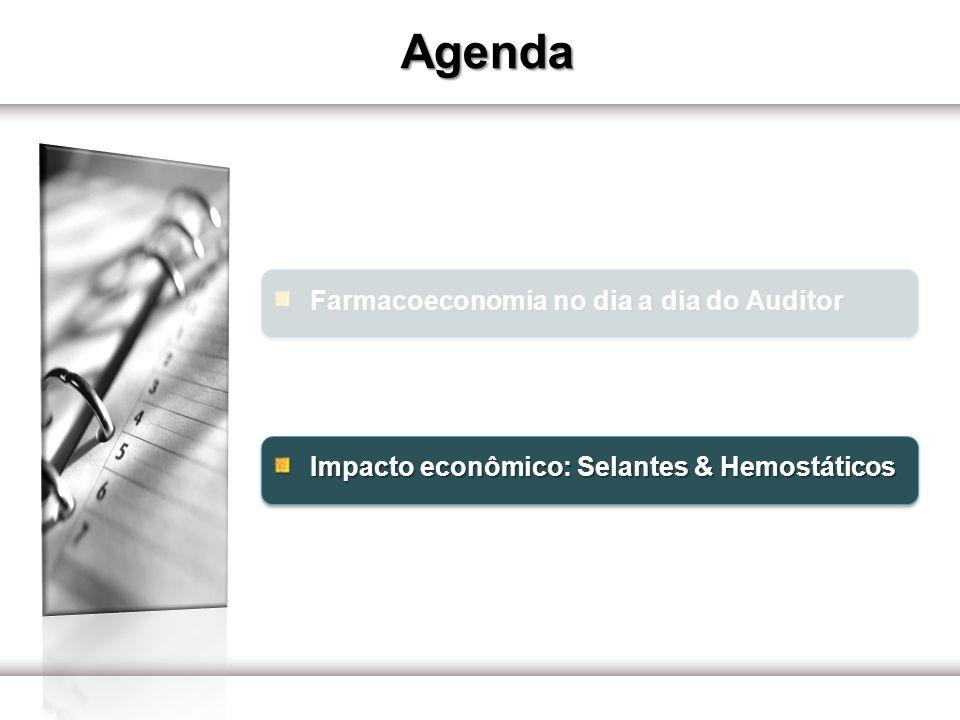 Impacto econômico: Selantes & Hemostáticos Selantes Selante & Hemostático Hepatectomia Opções de selantes disponíveis no mercado