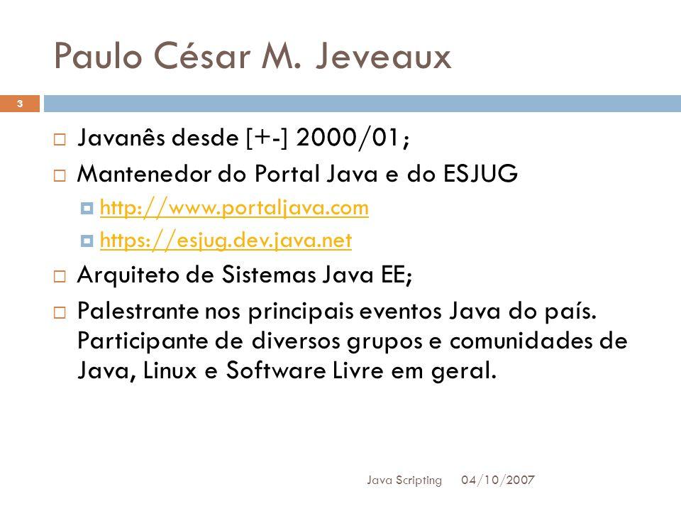 Paulo César M.