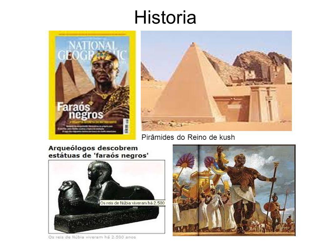 Historia Pirâmides do Reino de kush