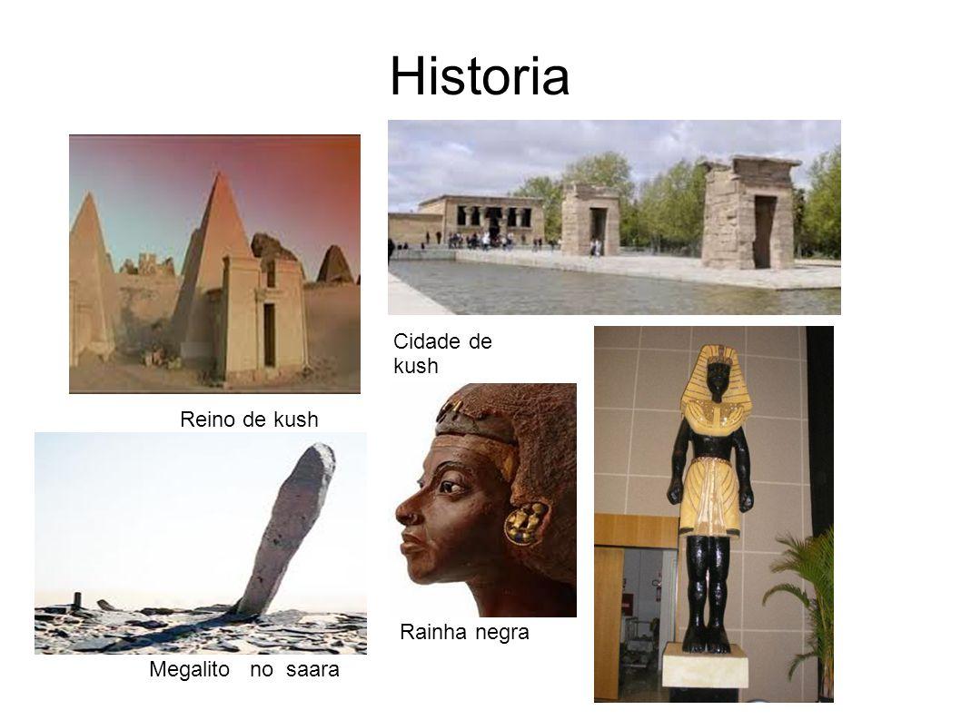 Historia Reino de kush Megalito no saara Rainha negra Cidade de kush