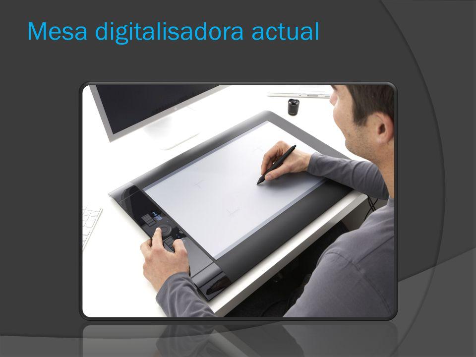 Mesa digitalisadora actual