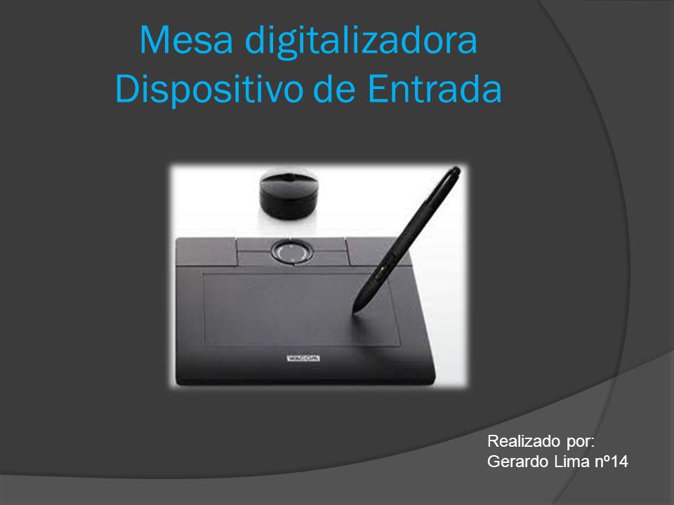 Mesa digitalizadora Uma messa digitalizadora é basicamente uma alternativa ao usual rato para interagir com o computador mas com imensas vantagens.