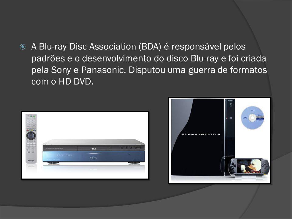 A Blu-ray Disc Association (BDA) é responsável pelos padrões e o desenvolvimento do disco Blu-ray e foi criada pela Sony e Panasonic. Disputou uma gue