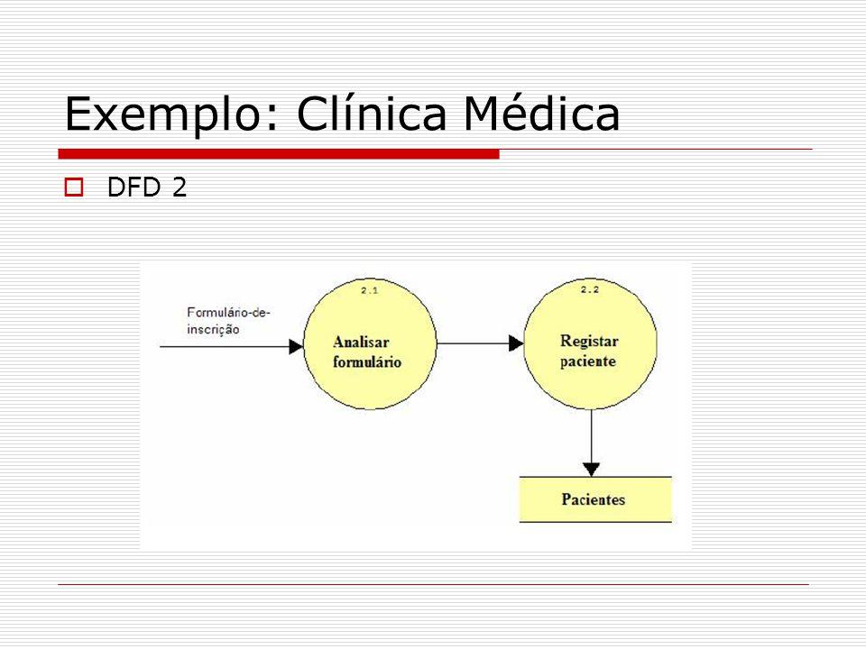 Exemplo: Clínica Médica DFD 2