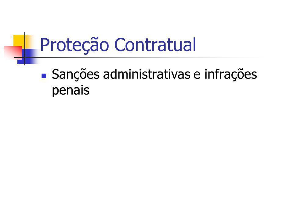 Sanções administrativas e infrações penais