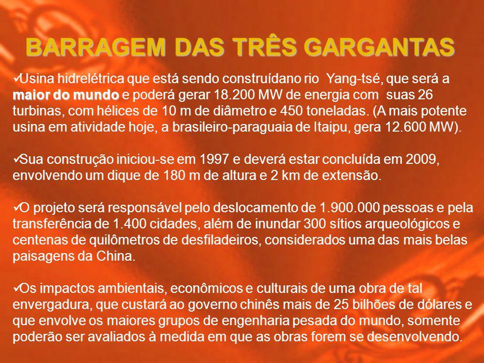 REPRESA DE TRÊS GARGANTAS