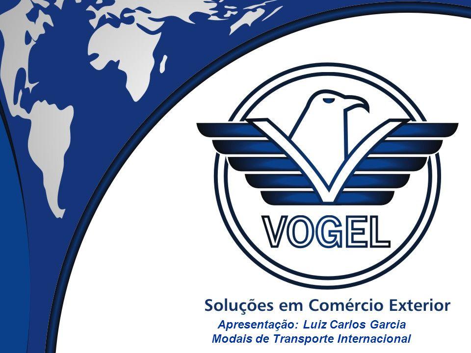 Apresentação: Luiz Carlos Garcia Modais de Transporte Internacional