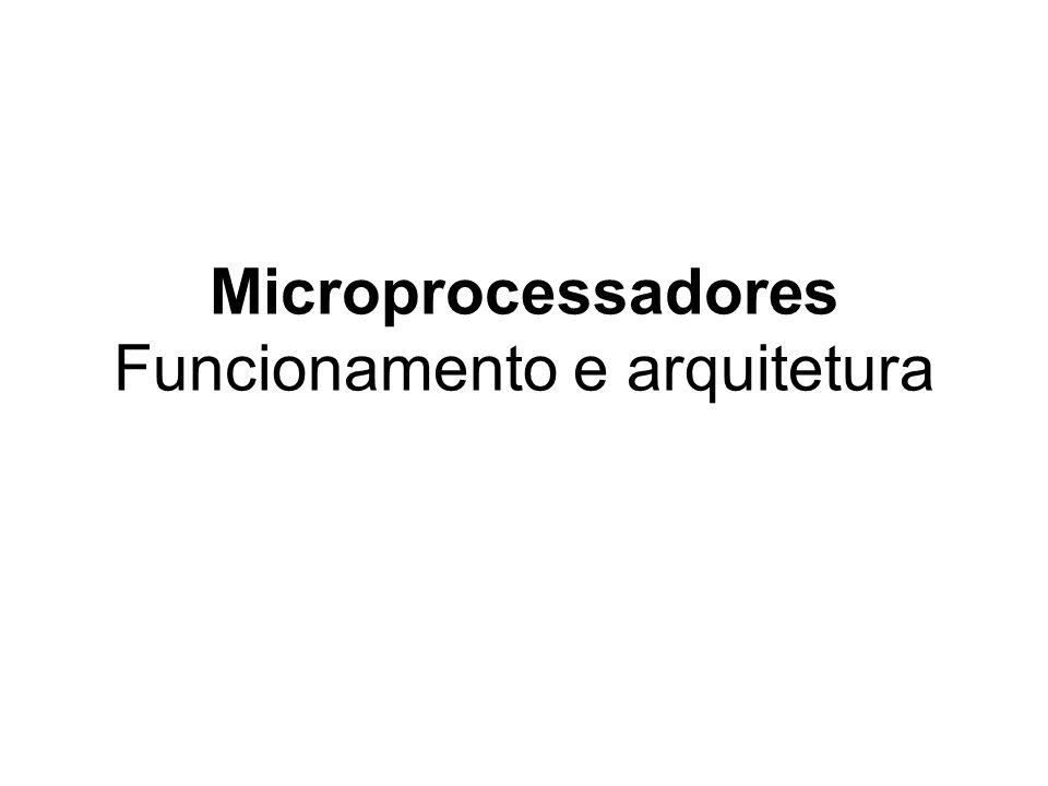 Introdução O microprocessador é o coração de qualquer computador normal, seja um computador de mesa, um servidor ou um laptop.
