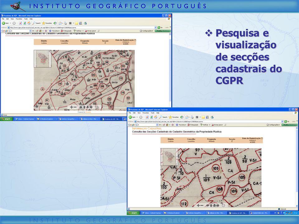Pesquisa e consulta de processos de conservação cadastral Pesquisa e consulta de processos de conservação cadastral