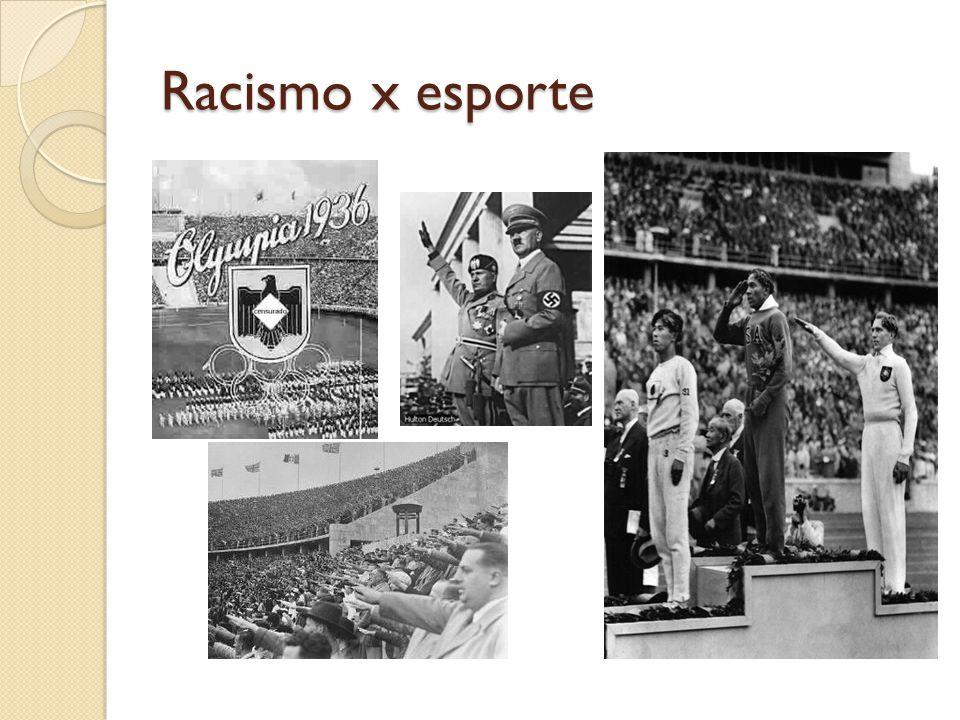 Racismo x esporte