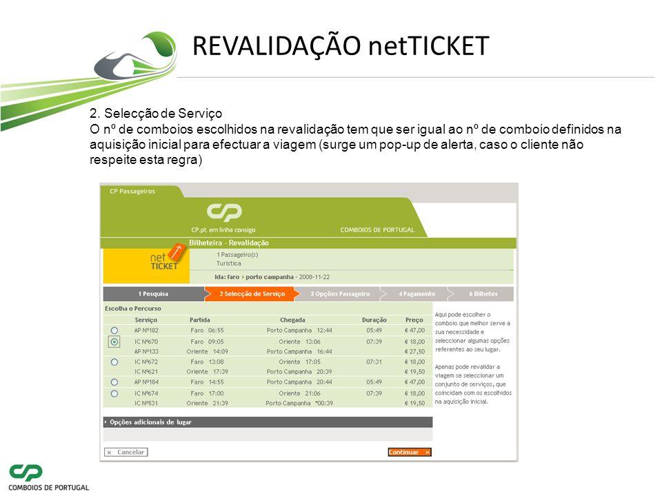 REVALIDAÇÃO netTICKET 2.