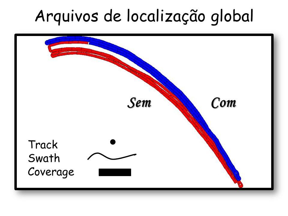 ComSem Arquivos de localização global Track Swath Coverage