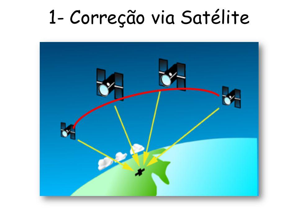 1- Correção via Satélite